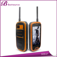 S09 IP68 Quad Core Waterproof Shockproof rugged brand cell phone cases