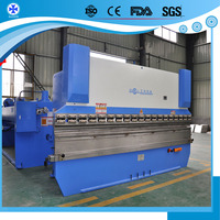 80Ton 3200mm hydraulic steel bending machine for iron used