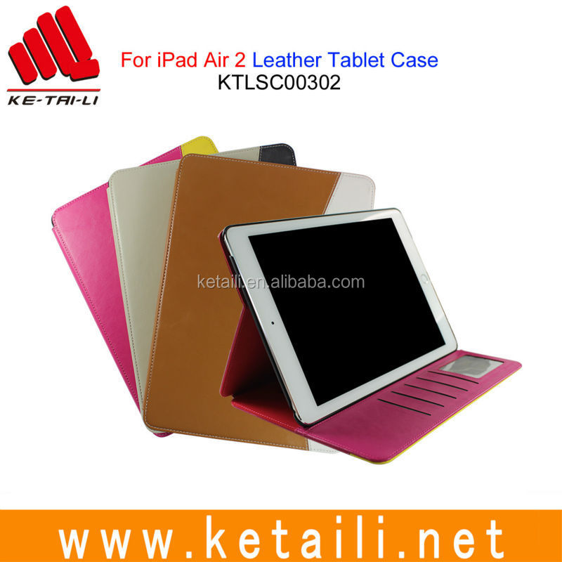 Customized design PU leather tablet protective case cover for iPad Pro 9.7 12.9