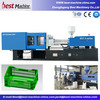 high quality equipment for making plastic vegetable fruit crate /injection moulding machine
