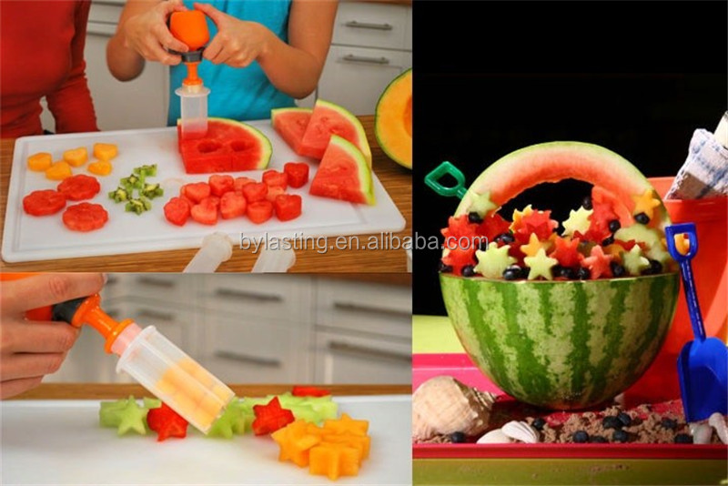 10 pcs Kit Birthday Gifts DIY Vegetable and Fruit Decoration Tools As Seen On Tv Mold Tools