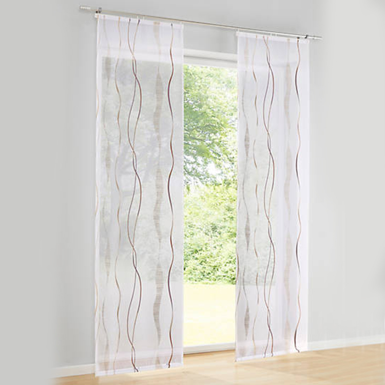 curtains ready made wholesale sheer new design window curtain