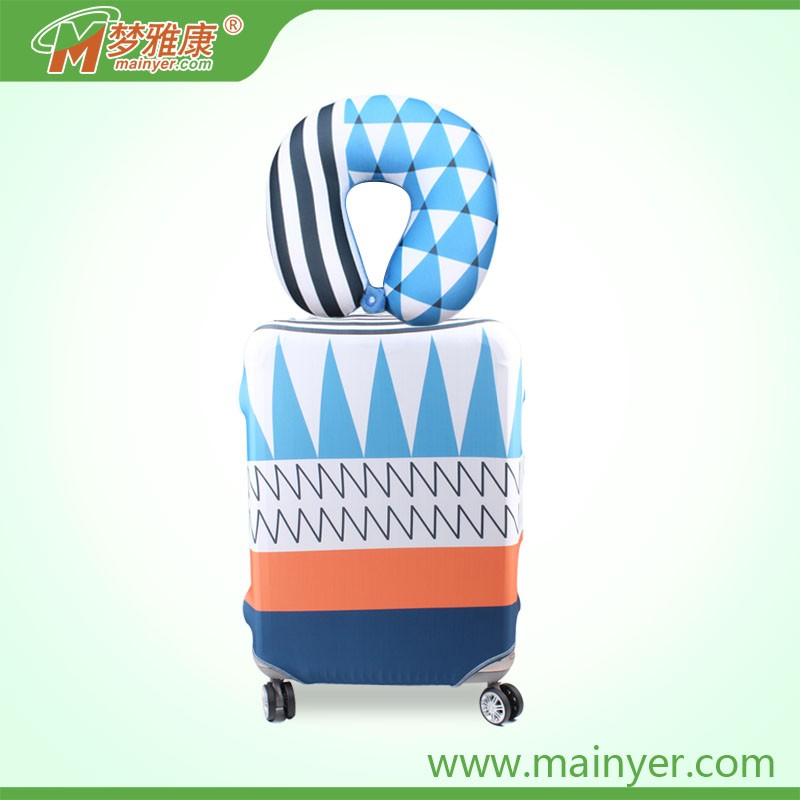 Suitcase Printing Fabric Design 20/22/24/26/28/30 inch Travel Luggage Covers Elastic Suitcase Protector Jacket with Water Proof