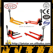 Customization Brand Jetstar warehouse hand operated pallet jack