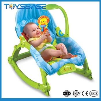 Musical and lighting electric hanging rocking cradle bouncer and rocker chair baby swing