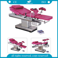 AG-C102A Electric control system gynecology examination table with arm rest
