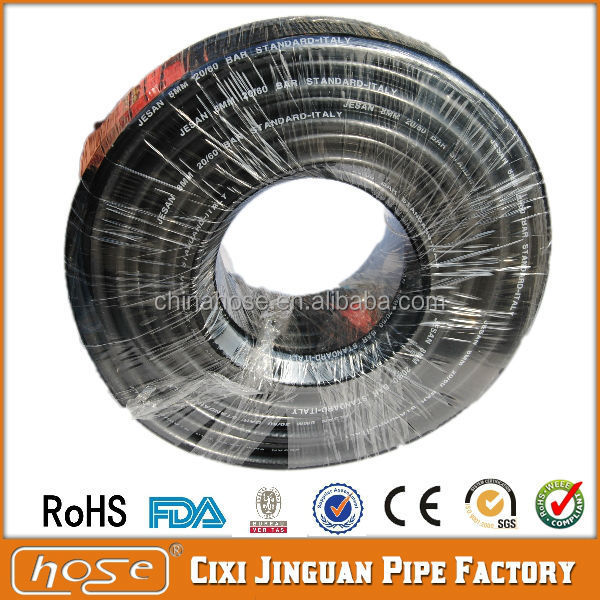 50 Meter Roll 8mm Nylon Reinforced Black Flexible PVC LPG Gas Hose For Gas Oven, PVC Gas Hose, PVC LPG Propane Gas Hose