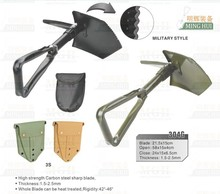 Sapper shovel for army use