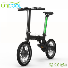 Factory Supplier 16'' Folding Electric Bike/Bicycle/Ebike for sale