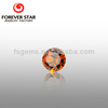 Hot Sale Product 3.1mm Light Garnet Red Round CZ with the Best Price 2GS01006A