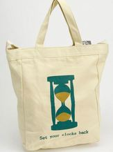 fashion eco-friendly custom printed promotional cotton canvas tote bag