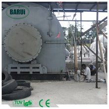 plastic to oil conversion waste to fuel pyrolysis plant with ISO/CE