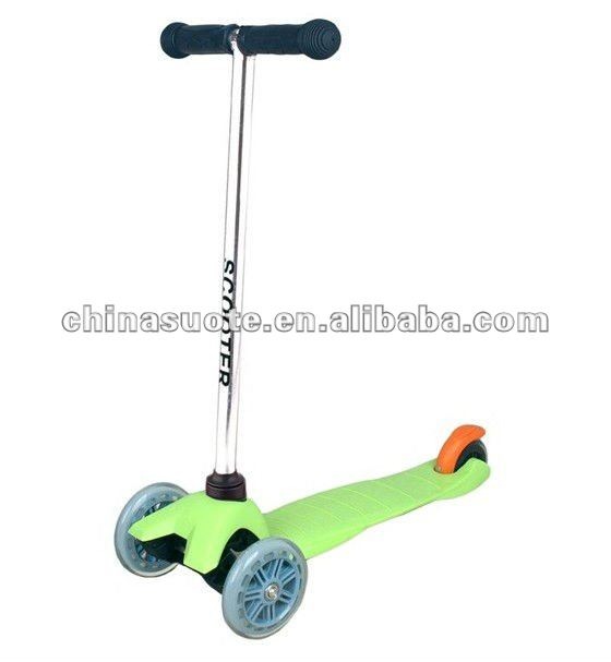 Three Wheels Kids Mini Kick Scooter
