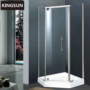 Made in China Factory Bathrooms Designs Sliding Door Shower Room Enclosure K-7301