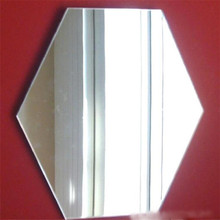 Wholesales 4mm 5mm clear buy half silvered mirror with certificates