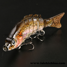 Swimming bait jointed fishing lures