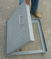 FRP CHECKER PLATE