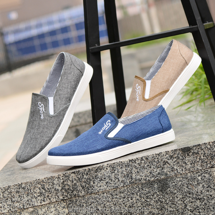New fashion cheap quality promotional mens shoes