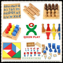 2014 hot new educational toys modern montessori teaching equipments math montessori material setQX-177A