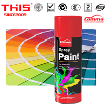 Aerosol auto epoxy glow in the dark waterproof oil multi color water based wall car protect film acrylic paint spray