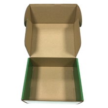 Glossy lamination corrugated custom made paper box packaging for shoes
