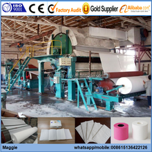 GM-787mm Small Factory Paper Machine for Producing Toilet Tissue Paper, Napkins, Facial Tissue Paper