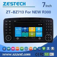 ZESTECH 7 inch Entertainment Car DVD Player for BENZ NEW R300 with GPS, Radio, Bluetooth,Steering Wheel Control