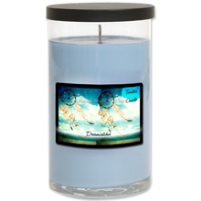 New Design 100% Soy wax Scented Colorful Aroma Glass Jar Candles With Metal Lid