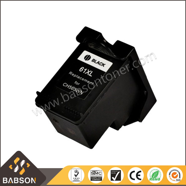 Directly sale Compatible Ink cartridge 61XL for HP CH563WN