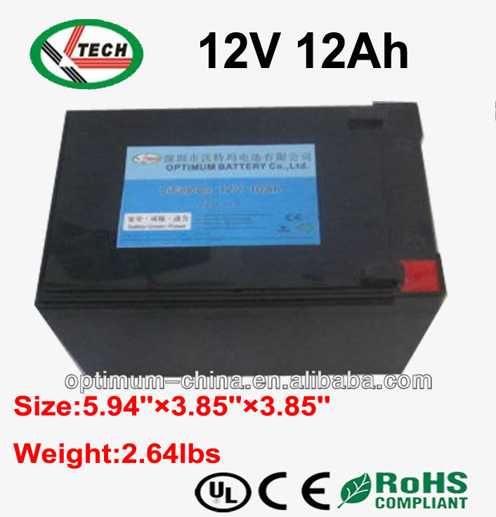 batteries rechargeable 12v 12ah with deep cycle