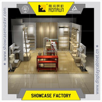 Mall kiosk shoe store ,shoe shop display counter design ,wooden shoe display stands