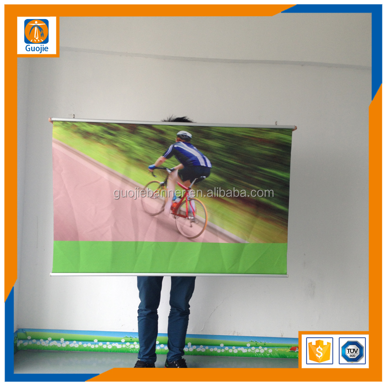 hot selling Hanging banner UV digital printing Custom Wall Scroll Hanging Banner