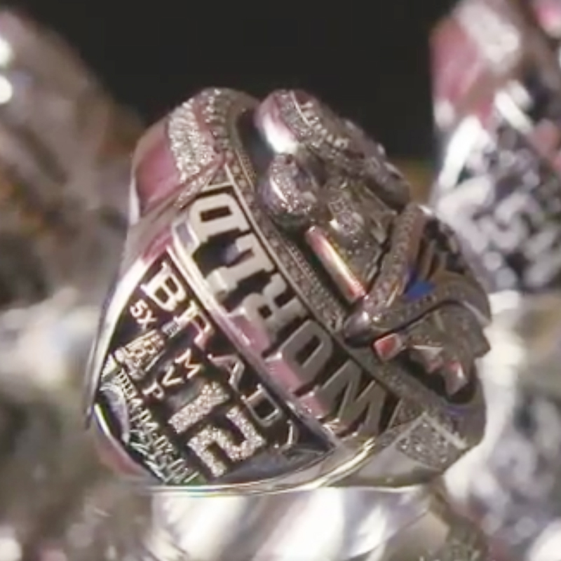 CP0001 JN Wholesale Pre-sale 2016-2017 New England Patriots Super Bowl Official Championship Rings For MVP Tom Brady