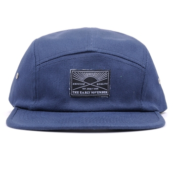 OEM wholesale Adult Free Size 5 Panel Custom Woven Label Logo Flat Caps Hat