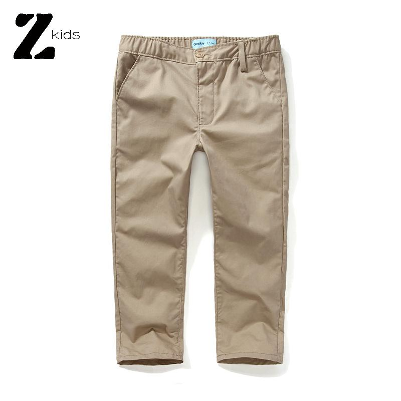 Free Shipping New 2015 Hot Summer Spring Autumn Kids Pants Boys Cotton Casual Elastic Waist Baby Bebes Trousers
