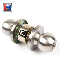 Door thickness 35-45mm High quality SS304 cylindrical anti-theft wood door lock