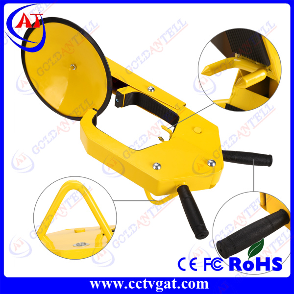 waterproof whole sale factory prices car wheel clamp / car tire lock / parking barrier security lock