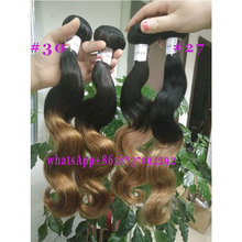 top hair 4*4 13*4 360 lace closure with virgin brazilian body wave bundles, 100% remy human hair weaving,two tones natural color