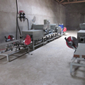 Sawdust hot press machine, Wooden pier equipment, Compressed wood pallet making machine