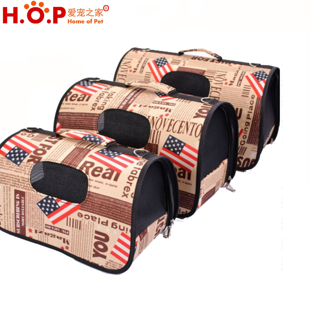 New Style Pet Dog Portable Travel Carrier Tote Cage Bag Crates Kennel