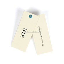 Custom design printed shoes t-shirt hang tags with your logo