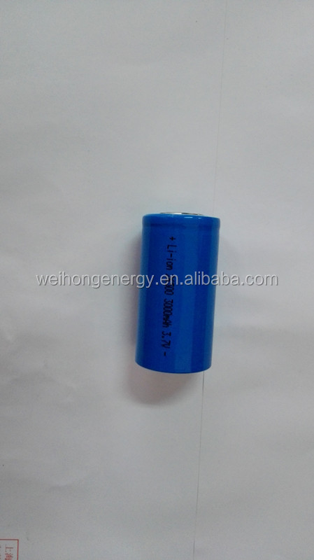 rechargeable <strong>battery</strong> 3.7v 3000mah cylindrical <strong>battery</strong> 26500