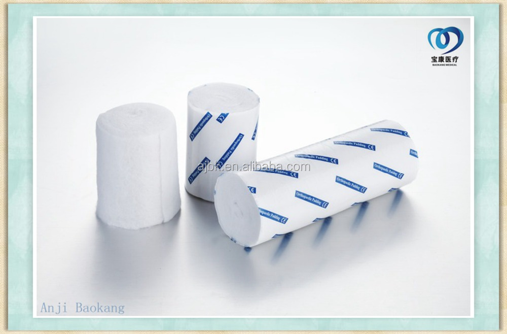 Soft Absorbent Surgical Orthopedic Cast Padding