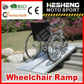 HESHENG 2014 HOT SELL Transport Wheelchair Ramp with CE approved