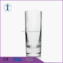 Straight high grade drinking water glass