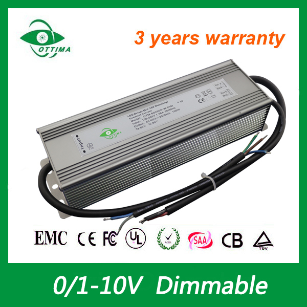 0-10V Dimming LED Driver 147W 1050A UL ETL constant current led driver