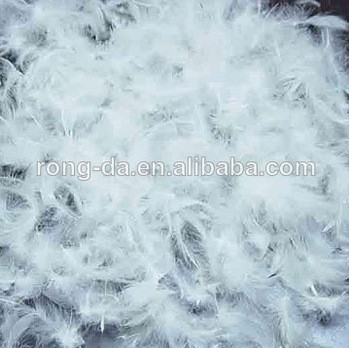 Prestigeous feather supplier 2-4CM Washed White Duck Feather