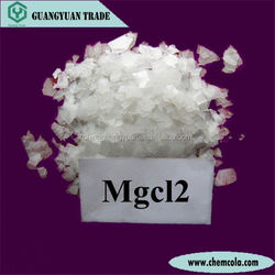 Flakes anhydrous magnesium chloride with 99% purty