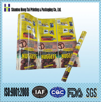 flexible packaging printed plastic rolls films for making bags