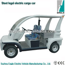 Street legal electric car, 2 seats with cargo bed, EEC approved